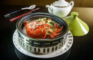 鍋仔蓮子燉蟹