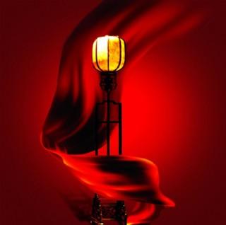 紅飄帶 古代燈