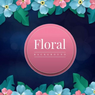 春季花卉背景