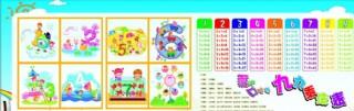 數學展板 幼兒園