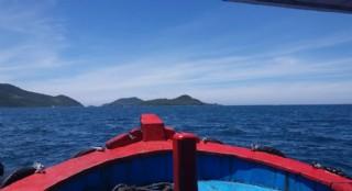 南中国海上航行
