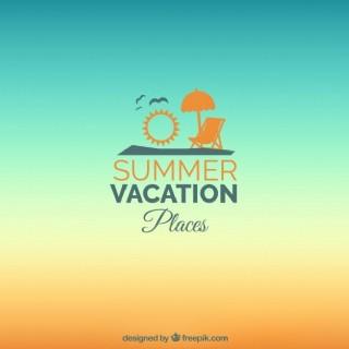暑假的背景